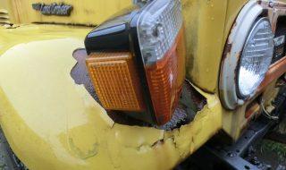 ランクル40 右ウインカーが壊れました。どうしよう?