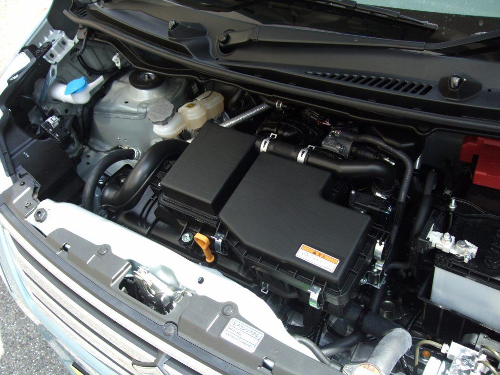 ワゴンRのエアコン修理